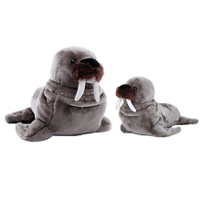 Walrus Stuffed Animal Simulation Plush Toys Cute Pillow Jouet Peluche Birthday Gift Baby Knuffel Toys For Children Girls 50G0462