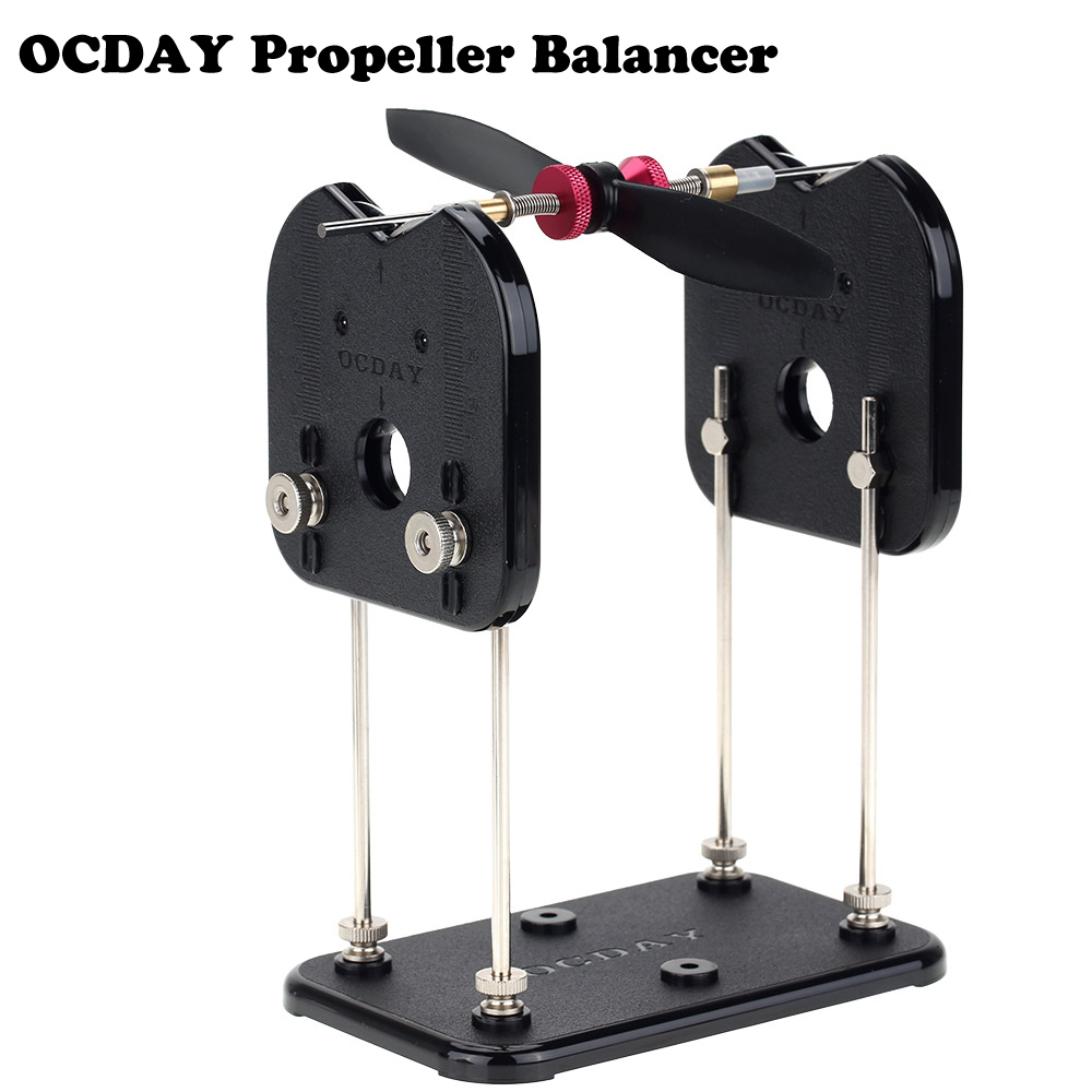 New OCDAY Tru-Spin Prop Propeller Balancer for RC Helicopter Multirotor Airplane триммер для носа и ушей supra nts 101