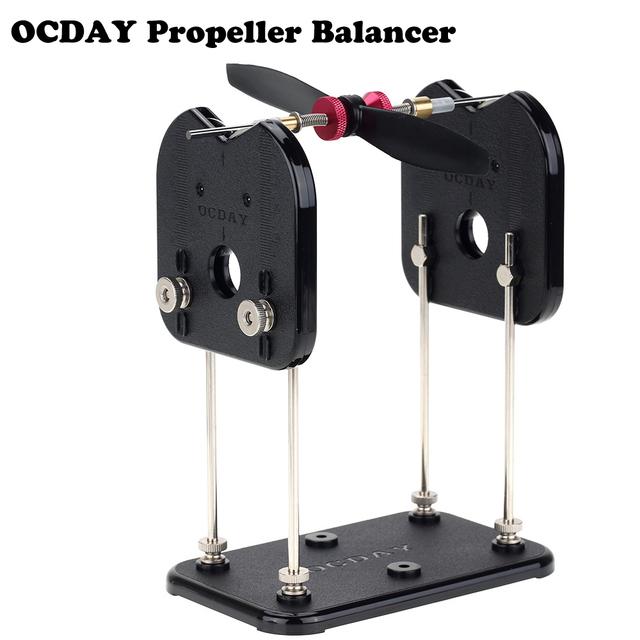 New OCDAY Tru-Spin Prop Propeller Balancer for RC Helicopter Multirotor Airplane