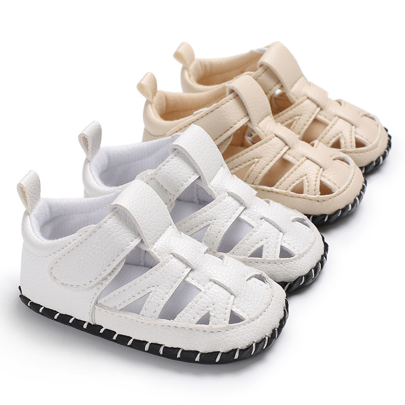 New Summer Baby First Walkers Toddler Boys Summer Breathable Soft Shoes for 0-18 Months Infant Casual PU Leather Anti-slip ShoesNew Summer Baby First Walkers Toddler Boys Summer Breathable Soft Shoes for 0-18 Months Infant Casual PU Leather Anti-slip Shoes