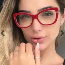 COOLSIR Ladies Square Glasses Frames For Women Metal Legs Designer Optical EyeGlasses Fashion Eyewear Computer