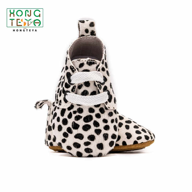 New Genuine Leather Baby Boy Girl Shoes Leopard Printing Toddler Shoes for Bebe Boy Casual Soft Sole First Walkers Infant Shoes