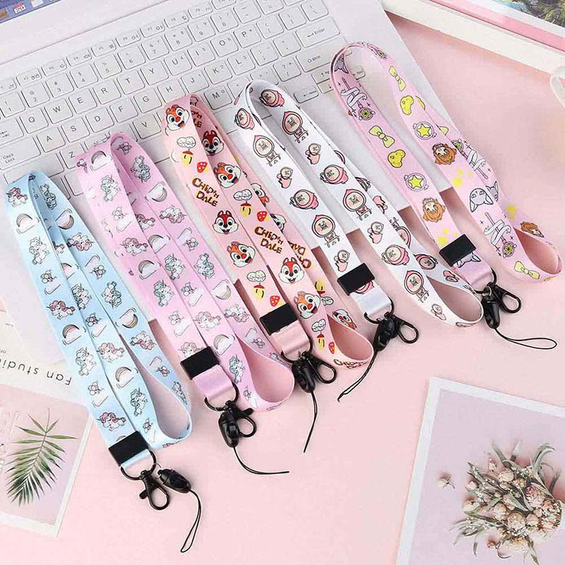 Fashion Unicorn Neck Strap  Cartoon Lanyards For Keys ID Card Gym Mobile Phone Straps USB Badge Holder DIY Hang Rope