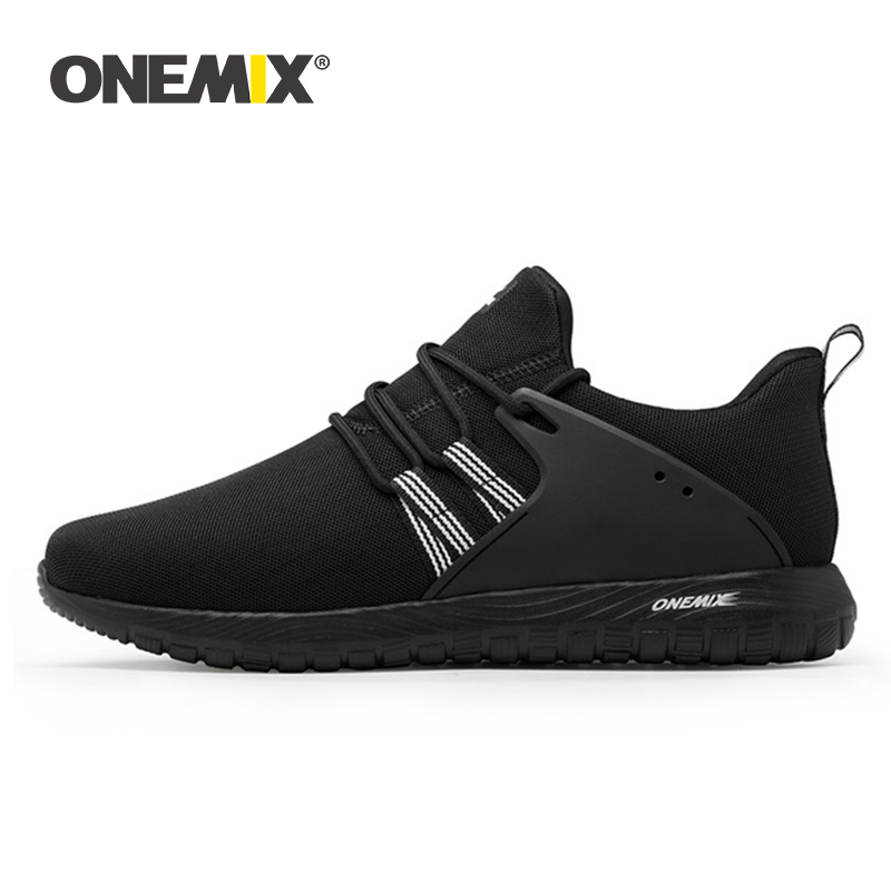 Onemix Breathable Mesh Running Shoes For Men Sports Sneakers For Women Lightweight Sneakers For Outdoor Walking Trekking Shoes-in Running Shoes from Sports & Entertainment    1