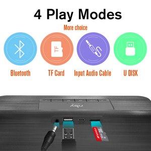 Image 5 - Nby 5540 przenośny głośnik Bluetooth Radio FM bezprzewodowy głośnik niskotonowy głośnik 3D Stereo Boombox dwa głośniki komputer bas TWS