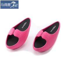 The body weight of legs shoes slippers shoes shoes foot stovepipe correcting humpback postpartum toning shoes bag mail