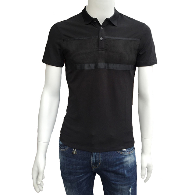 2016 Men Casual Fashion Polo Shirts Men's Slim Fit Large Size Short Sleeved Summer Polo Shirts Hombre Camisa Masculina Outwear