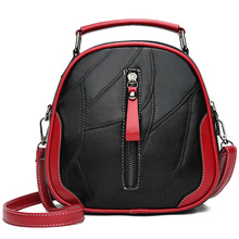 Messenger-Bag Wide-Shoulder-Strap Small Crossbody Leather Women Quality Tide