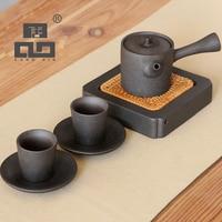 TANGPIN japanese handmade ceramic teapot kettle tea cup porcelain japanese tea set drinkware