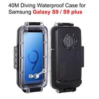 PULUZ Professional waterproof case for Samsung Galaxy S9 / S9+ Housing shell Underwater Cover water sports Photo video taking