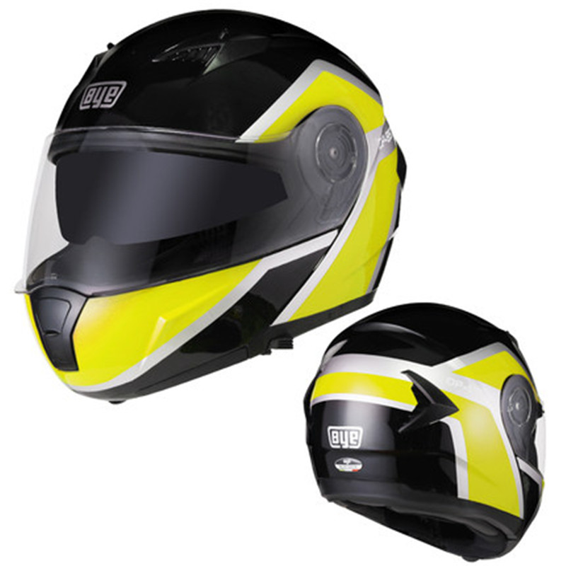 2019 good quality New Arrival Double Shield Motorcycle helmet DOT approved flip up motorbike helmet for