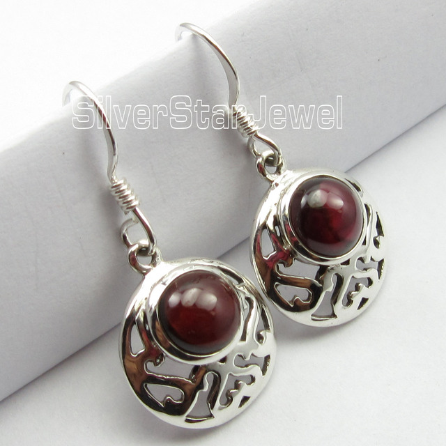 international rare jewellery item stone chanti silver smoky earrings brown sterling quarts handcrafted cm quartz