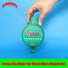 high quality LCD analogue waterproof garden timer