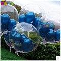 6 pçs/lote 2.2g Limpar Transparente Balão de látex Balões De Festa de Casamento e 3.2g bolas de cor Pérola Balão brinquedos para presente