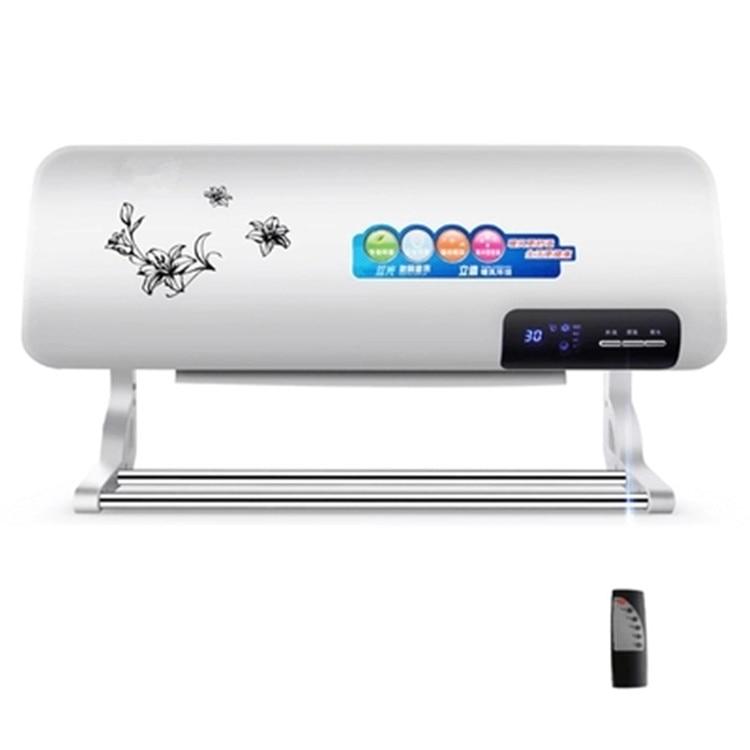 Famiglia parete riscaldatore telecomando riscaldatore Bagno ventilatore riscaldamento eletric caldo riscaldatore ad aria condizionata con un asciugamano stendino appendiabiti