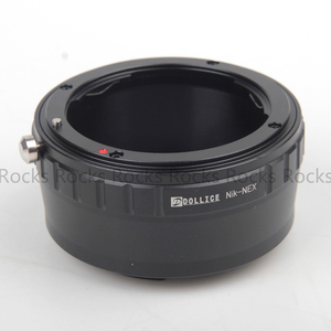 Image 5 - Dollice Nik NEX Lens Adapter Ring Suit For nikon Lens to for sony E Mount NEX Camera