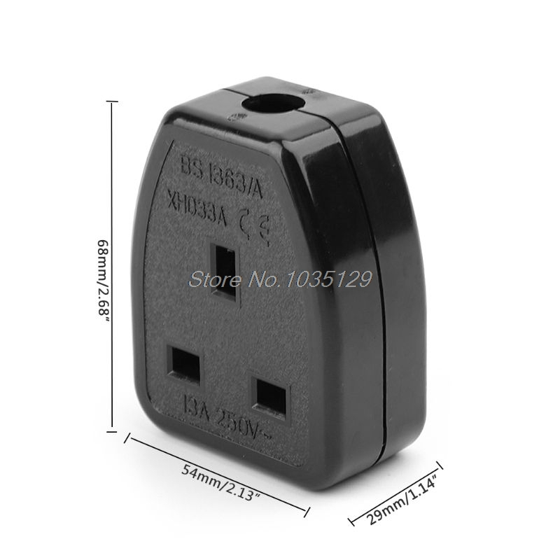 UK British standard power Adaptor detachable...