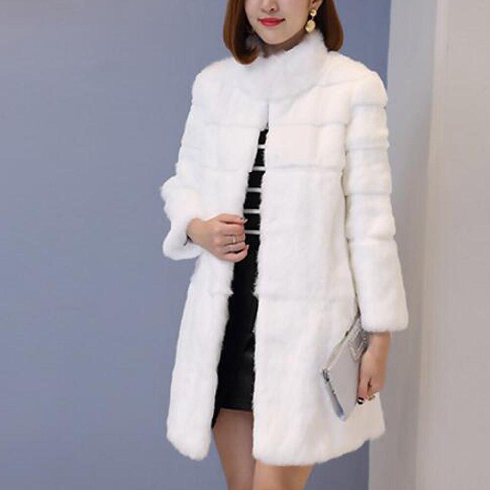 Шуба из натурального кроличьего меха из цельной кожи, полосатая линия, куртка из натурального меха для женщин и девочек, шуба из натурального меха, подгонка размера плюс, tbsr343