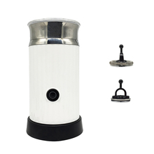 Milk Frother Steamer Electric Frother for Soft Foam, Automatic Hot Cold Milk Warmer with Two Whisk Heater and Cappuccino Maker