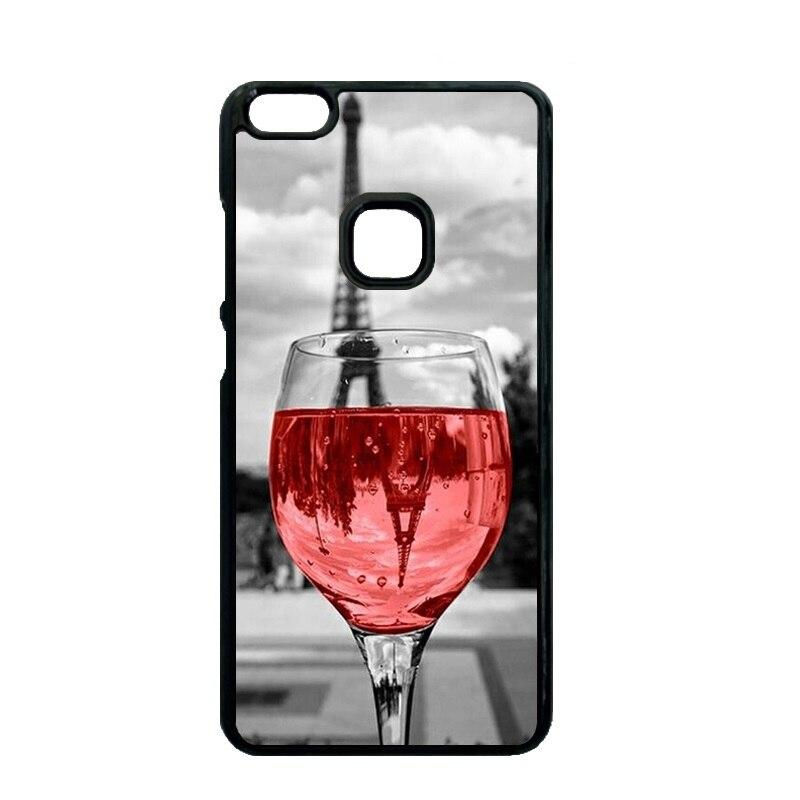 On Wine Glass in Paris Cover Case for Huawei Ascend P7 Mini P8 P9 P10 Lite P9 P10 Plus Xiaomi Redmi 2 3 4 Note 2 3 4