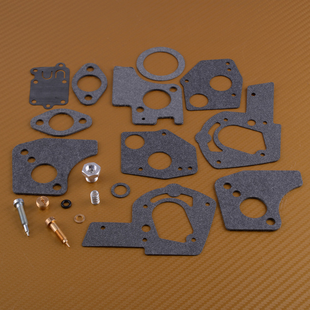 US $4 49 10% OFF|LETAOSK New 19pcs /set Carburetor Carb Overhaul Rebuild  Repair Kit for Briggs & Stratton 495606 494624 3HP 5HP-in Tool Parts from