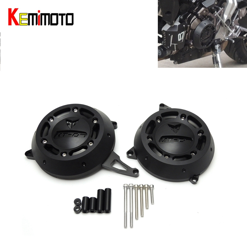 For yamaha MT-07 Engine Stator Case Cover Protector for Yamaha MT07 MT 07 2014-2016 Quality for mt-07 fz-07 2017 for yamaha fz 07 mt 07 engine stator case cover engine protective cover protector mt07 fz07 2014 2016 blue