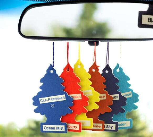 Little Trees Air Freshener Hanging Car Auto Home Office Room Fresher ...