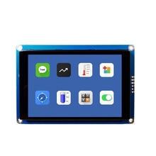 Yeni 3.5 inç HMI I2C IIC lcd ekran Modülü Kapasitif Dokunmatik Ekran 480x320 Arduino için