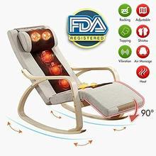 Electric Full Body Shiatsu Massage Chair Recliner Zero Gravity w/Heat Rocking Chair