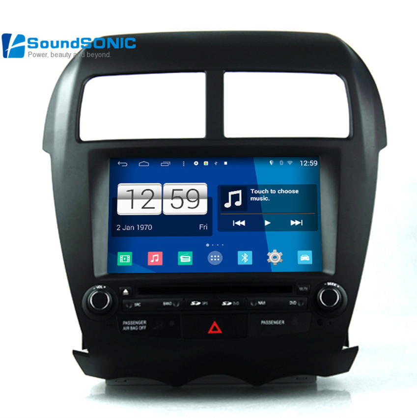android 4 4 4 for mitsubishi asx rvr outlander car media dvd gps navigation multimedia android. Black Bedroom Furniture Sets. Home Design Ideas