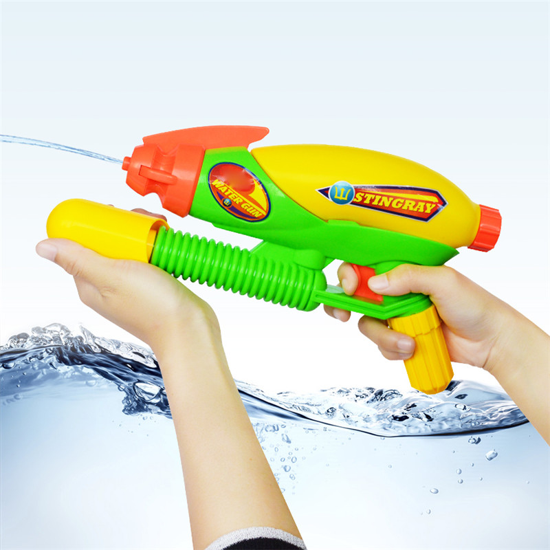 Summer Must-haves High Pressure Pump Big Water Gun Toys Firing Range 7-10m Outdoor Plastic Water Pistol Toys For Kids