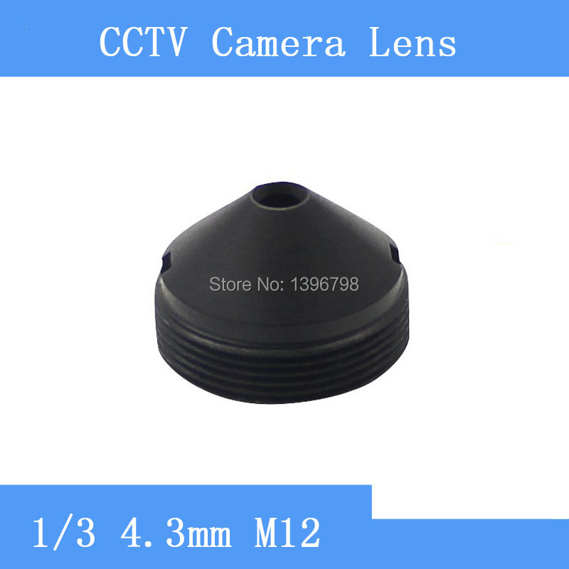Factory direct infrared surveillance camera pinhole lens 4 3mm M12 thread CCTV lens