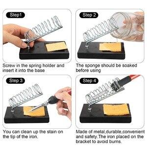 Image 4 - Toolour EU/US 60W Adjusting Temp Electric Soldering Iron Kit Backlit Digital Multimeter Solder Assist Set Welding Repair Tools