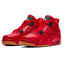 96478e39d5a Jordan 4 Singles Day Red Men Basketball Shoes Retro Pure Money Travis Scott  Black Cat white