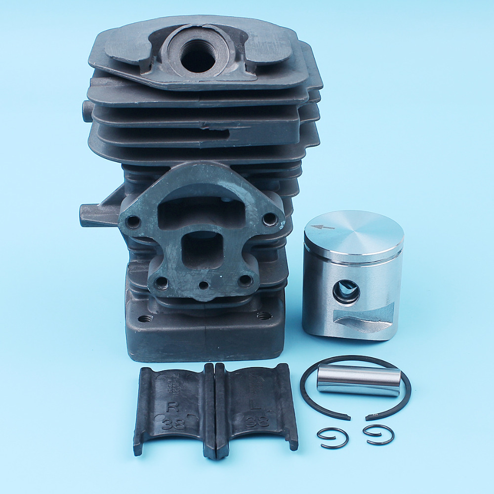 Nikasil Plated 39mm Big Bore Cylinder Piston Kit For Husqvarna 235 236 240 E Jonsered CS2234 CS2234S Chainsaw 545050418 / 417 kelkong carburetor rebuild kit for husqvarna chainsaw 235 236 gasket diaphragm repair for jonsered cs2234 cs 2238 zama carb kit