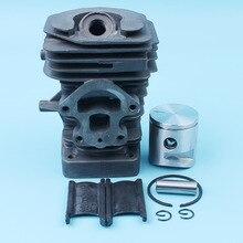 Nikasil Plated 39mm Big Bore Cylinder Piston Kit For Husqvarna 235 236 240 E Jonsered CS2234 CS2234S Chainsaw 545050418 / 417 все цены