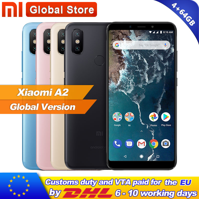 Lenovo K5 Play Phone Global Version 4G B20 Smartphone Android Mobile Phone Octa core Face Recognition