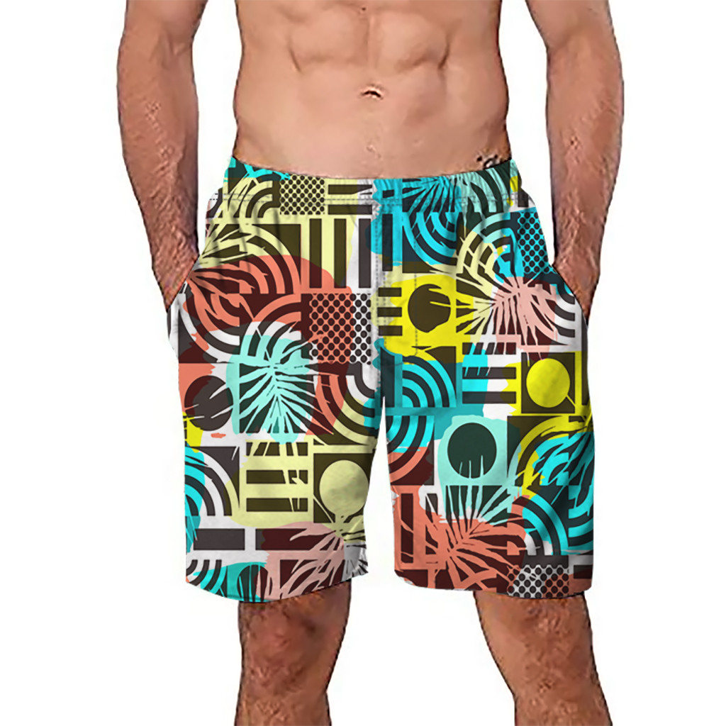 beach men shorts swimming bermuda masculina surf board shorts sports beach pants men short homme quick dry for men 2019 Trunks