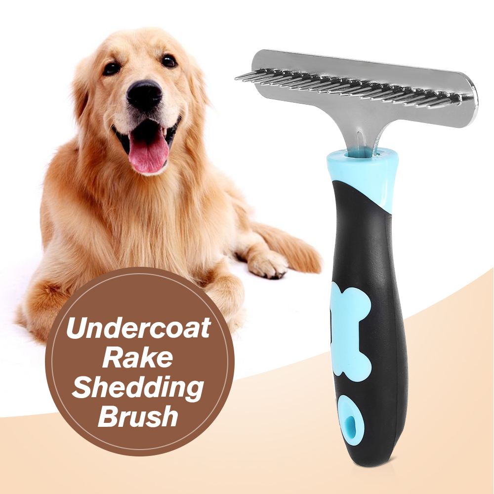 remove dog comb x brush white fur product hair shedding sheds rake short dogs for pet long
