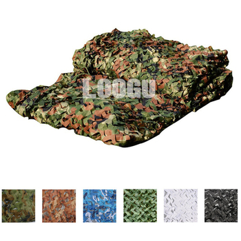 2M*8M Military Hunting Shooting Blind Awning Camouflage Net Outdoor Car Covers Sun UV Awning Camouflage Net Hunting Blind Awning