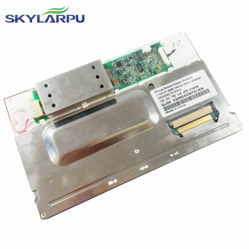skylarpu 7.2'' inch LCD screen for LTE072T-050-2, LTE072T-050, LTE072T Car GPS navigation LCD display screen panel Replacement 7 2 inch lte072t 050 2 lte072t 050 lte072t lcd display screen panel module for car dvd gps navigation system free shipping