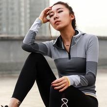 Women Hooded running jacket Long Sleeve Sweatshirt.