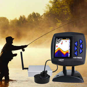 Image 4 - FF918 CWLS LUCKY Color Display Boat Fish Finder Wireless Remote Control 300m/980ft Fishing Wireless Operating Range