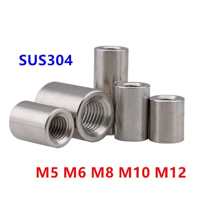 Screwed spacer sleeve; M6 100mm hexagonal; steel