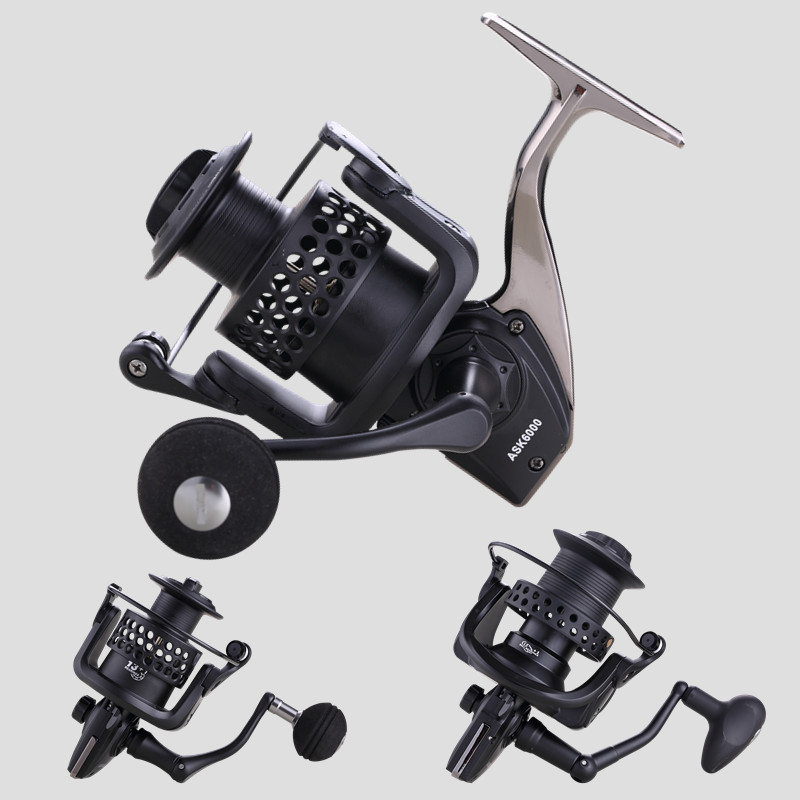 High Quality 14+1 BB Double Spool Fishing Reel 5.5:1 Gear Ratio Speed Spinning Carp For Saltwater