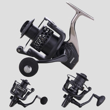 High Quality 14+1 BB Double Spool Fishing Reel 5.5:1 Gear Ratio High Speed Spinning Fishing Reel Carp Fishing Reel For Saltwater цена