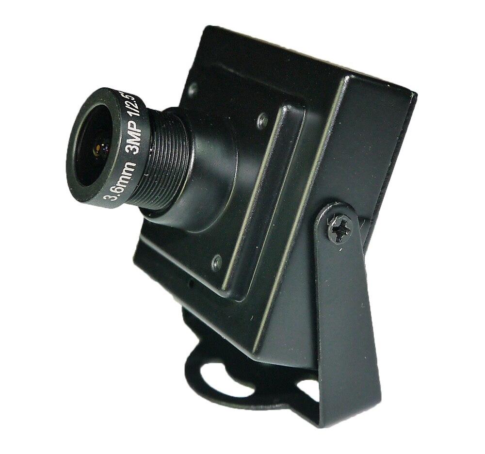"""imágenes para Promociones baratas de Alta Calidad 1080 P CCTV Cámara AHD 1/2. 7 """"Color CMOS 200 Megapíxeles 3.6mm Lente MiNi Cámara"""