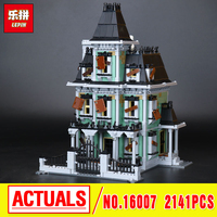 Lepin 16007 Monster Fighter The Haunted House Model Building Kits Model Assembling Minifigure Toys Compatible With