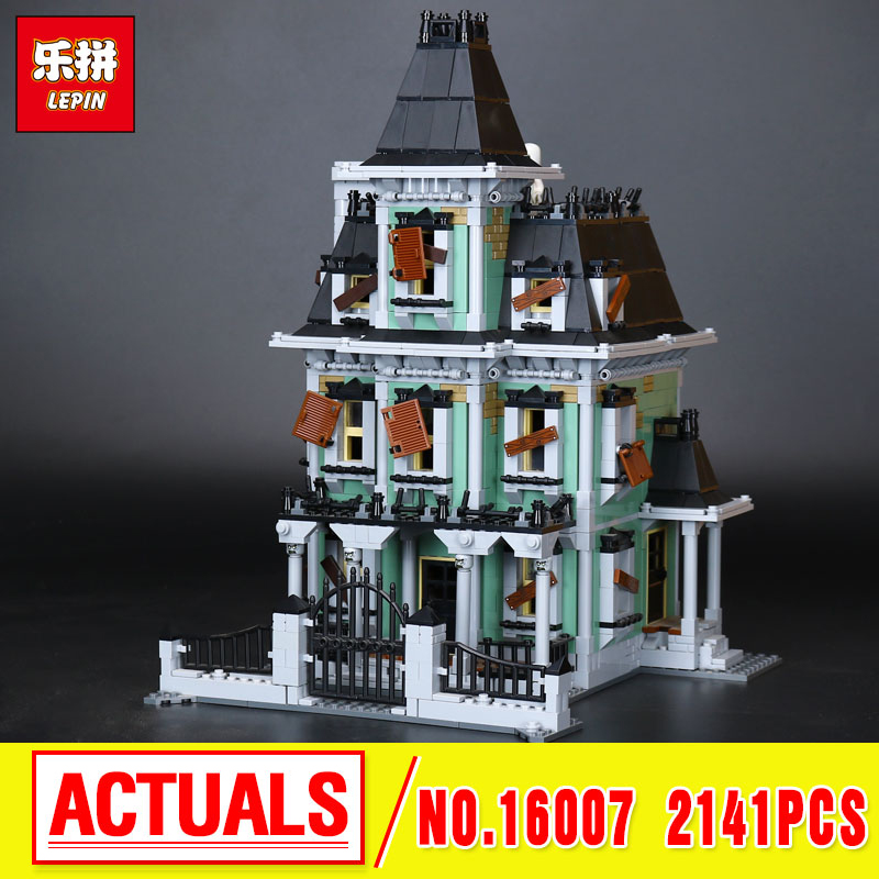 Lepin 16007 Monster fighter The haunted house Model Building Kits Model Assembling  Toys Compatible With 10228 new lepin 22001 pirate ship imperial warships model building kits block briks toys gift 1717pcs