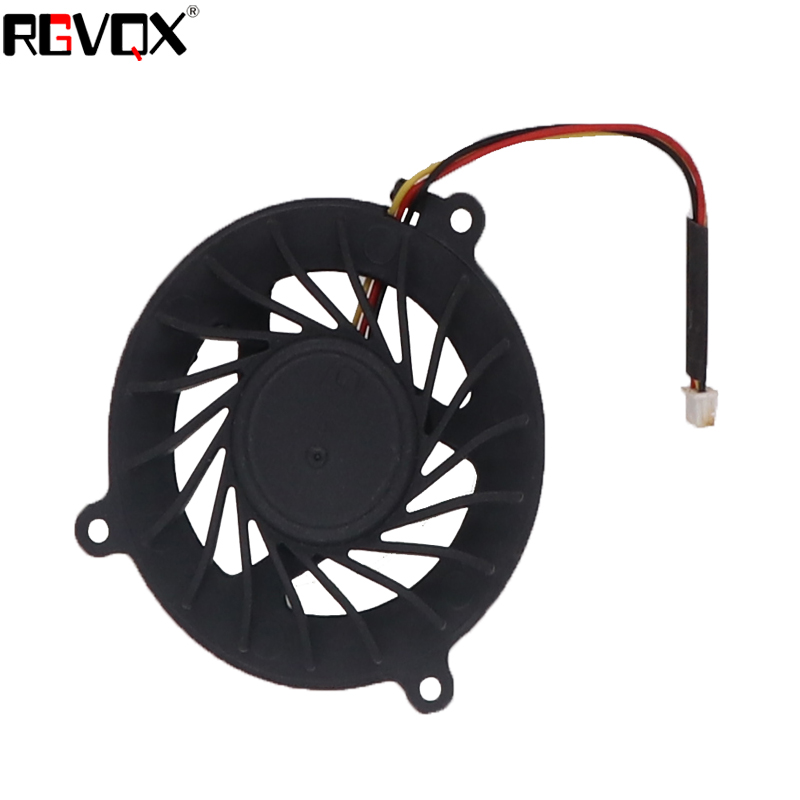 Купить с кэшбэком New Laptop Cooling Fan For ASUS A6 A6000 3 pins PN: GC054509VH-A CPU Cooler Radiator
